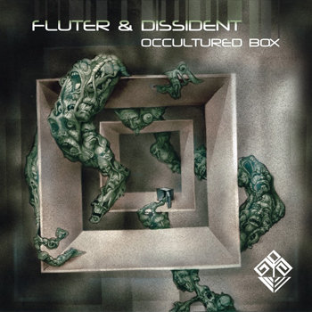 Fluter & Dissident - Diving into monument @ 'Occultured Box' album (electronic, drum'n'bass)