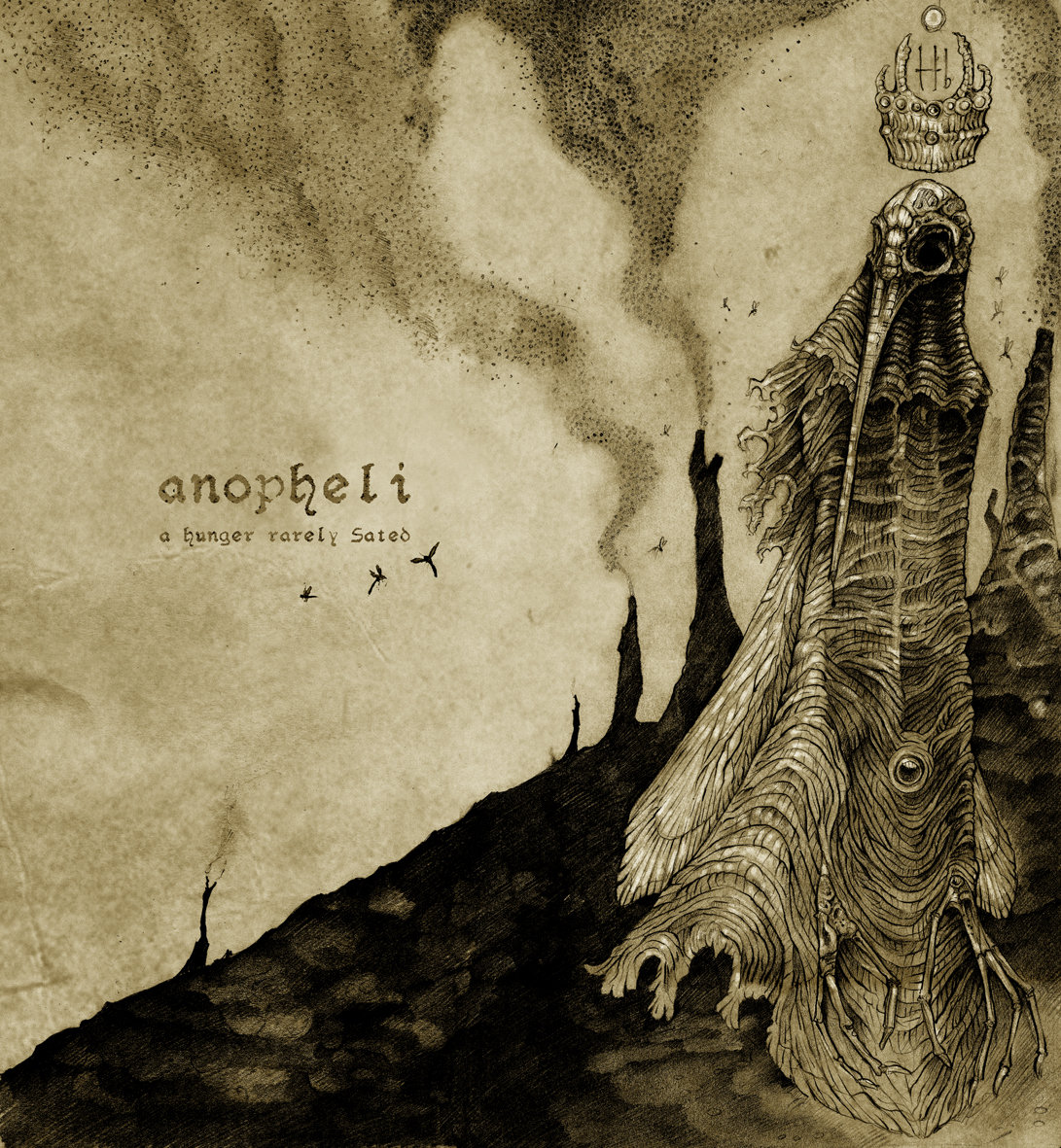 Anopheli - A Hunger Rarely Sated @ 'A Hunger Rarely Sated' album (metal, oakland)