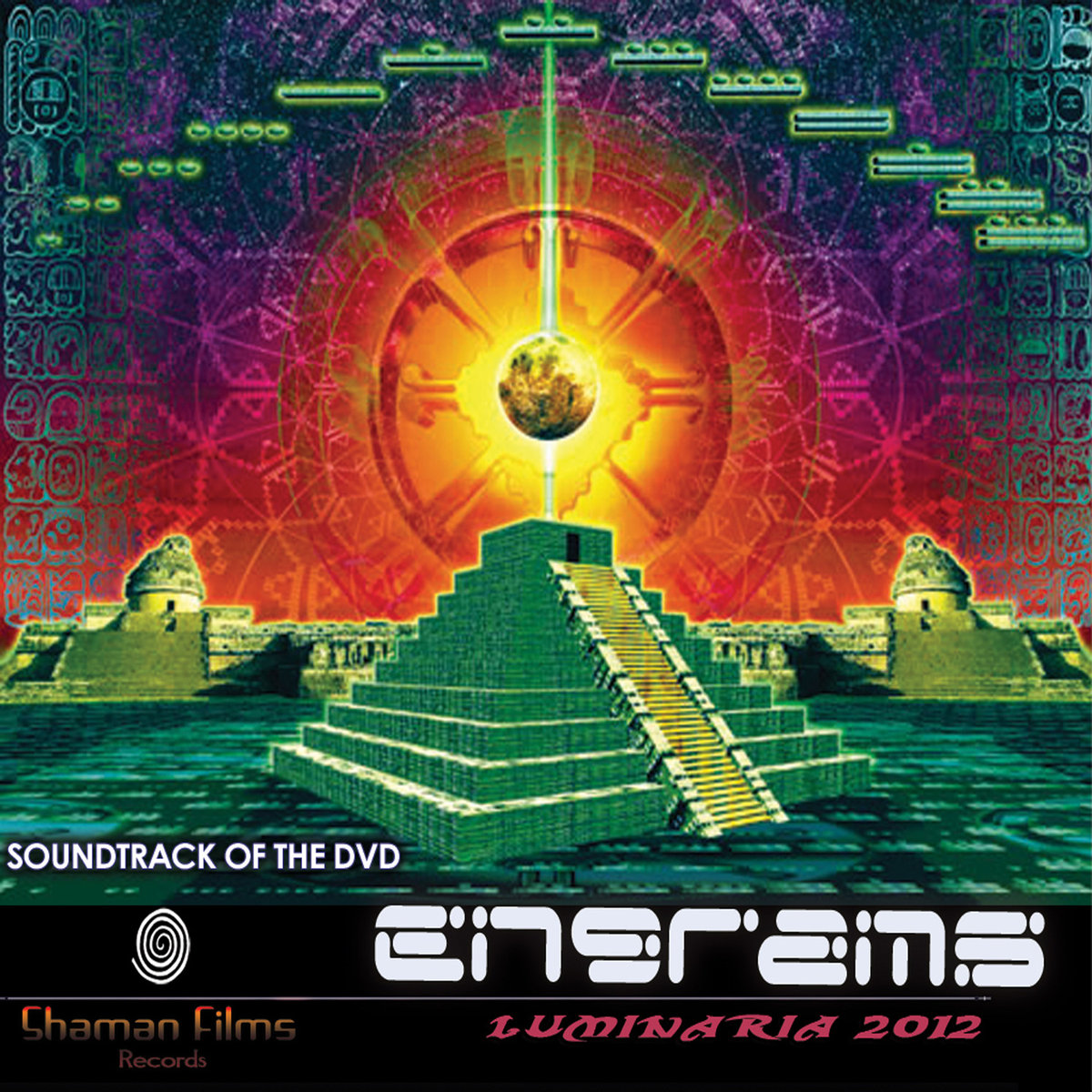 Chromatone & Random - Acid Burn @ 'Various Artists - Engrams Vol. 1: Luminaria 2012' album (electronic, goa)