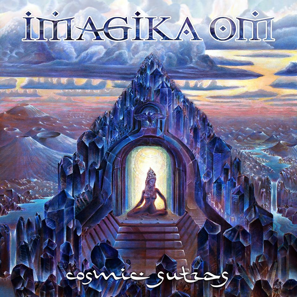 Imagika Om - Interplanetary Caravan @ 'Cosmic Sutras' album (devotional, electronic)