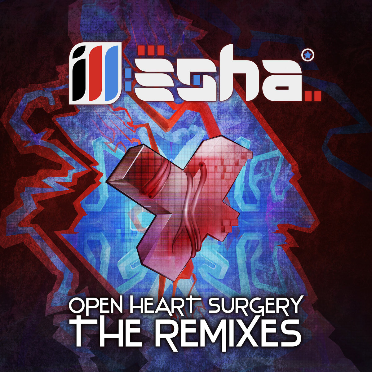 ill-esha - Dominoes (Brede & The Digital Connection Remix) @ 'Open Heart Surgery: The Remixes' album (Austin)