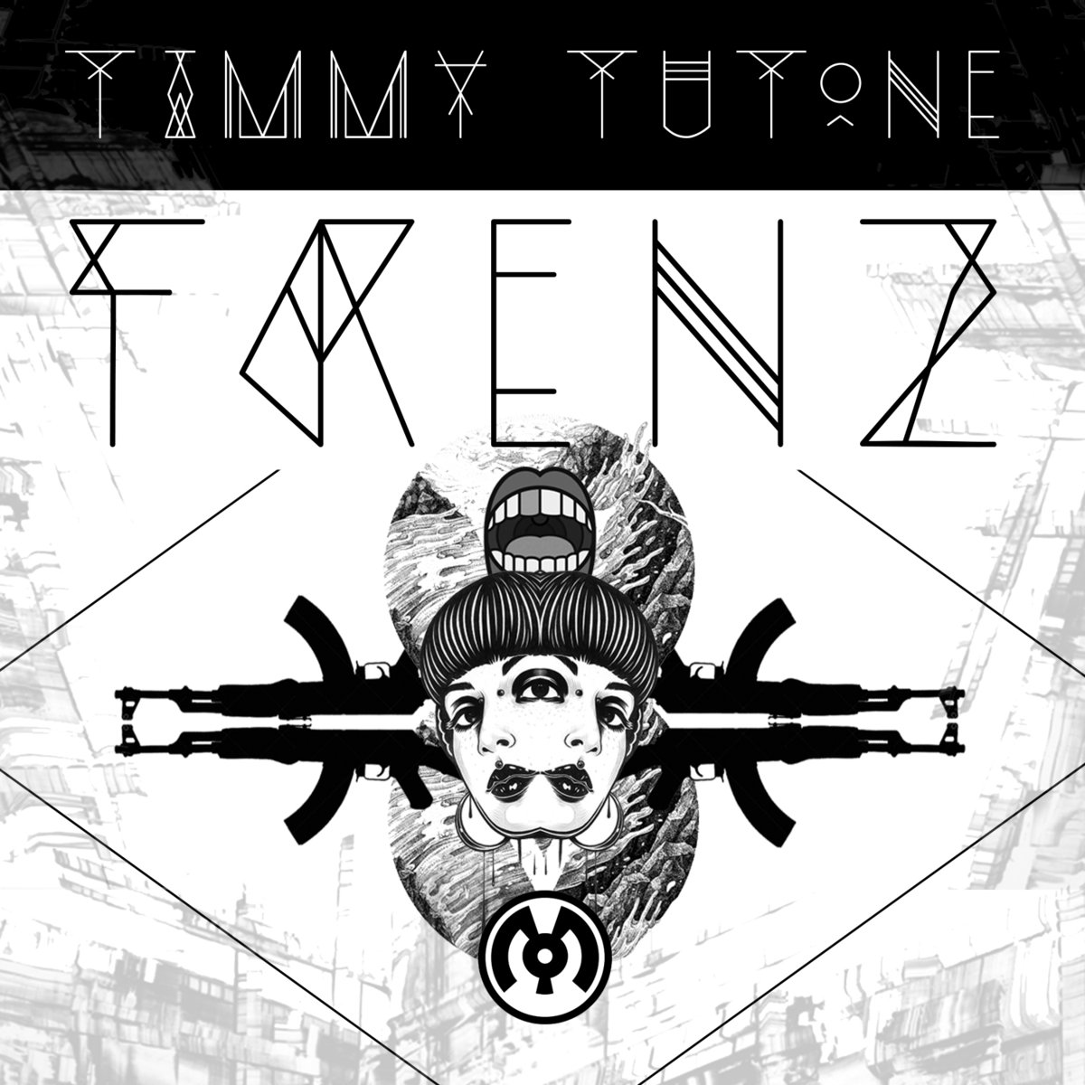 Timmy Tutone & Sigrah - Step Up @ 'Frenz' album (electronic, dubstep)