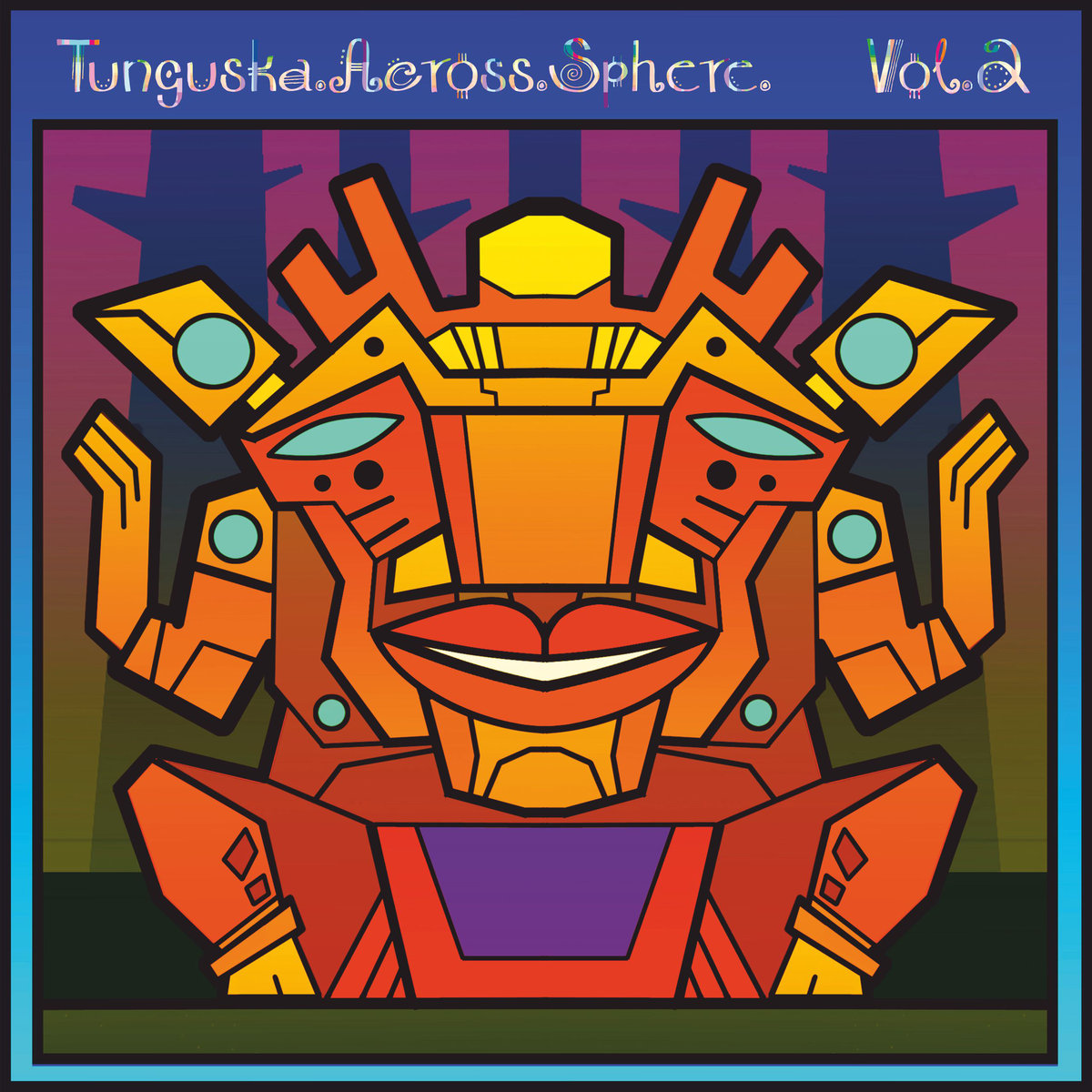 Luminance - Jazzbookah @ 'Ellipsis II - Tunguska.Across.Sphere. Vol.2' album (electronic, ambient)