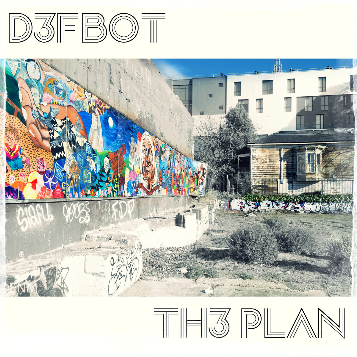 D3FB0T - Ready To Fight @ 'TH3 PLAN' album (electronic, dubstep)