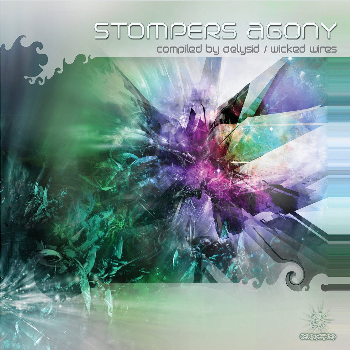 Tryambaka - Stroke Of Luck @ 'Various Artists - Stompers Agony (Compiled by Delysid / Wicked Wires)' album (electronic, goa)