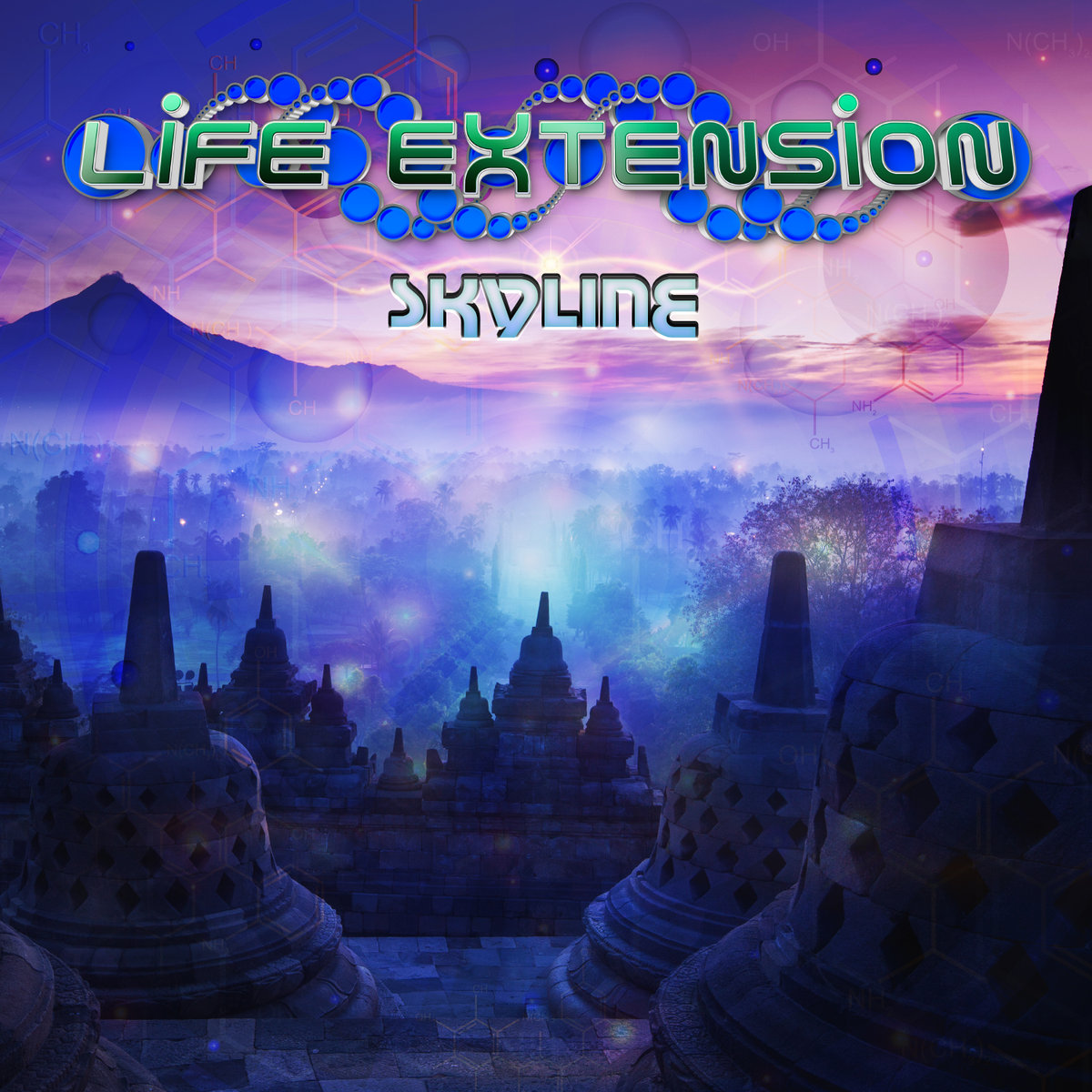 Life Extension feat. DJ Silver - Unlimited @ 'Skyline' album (electronic, goa)