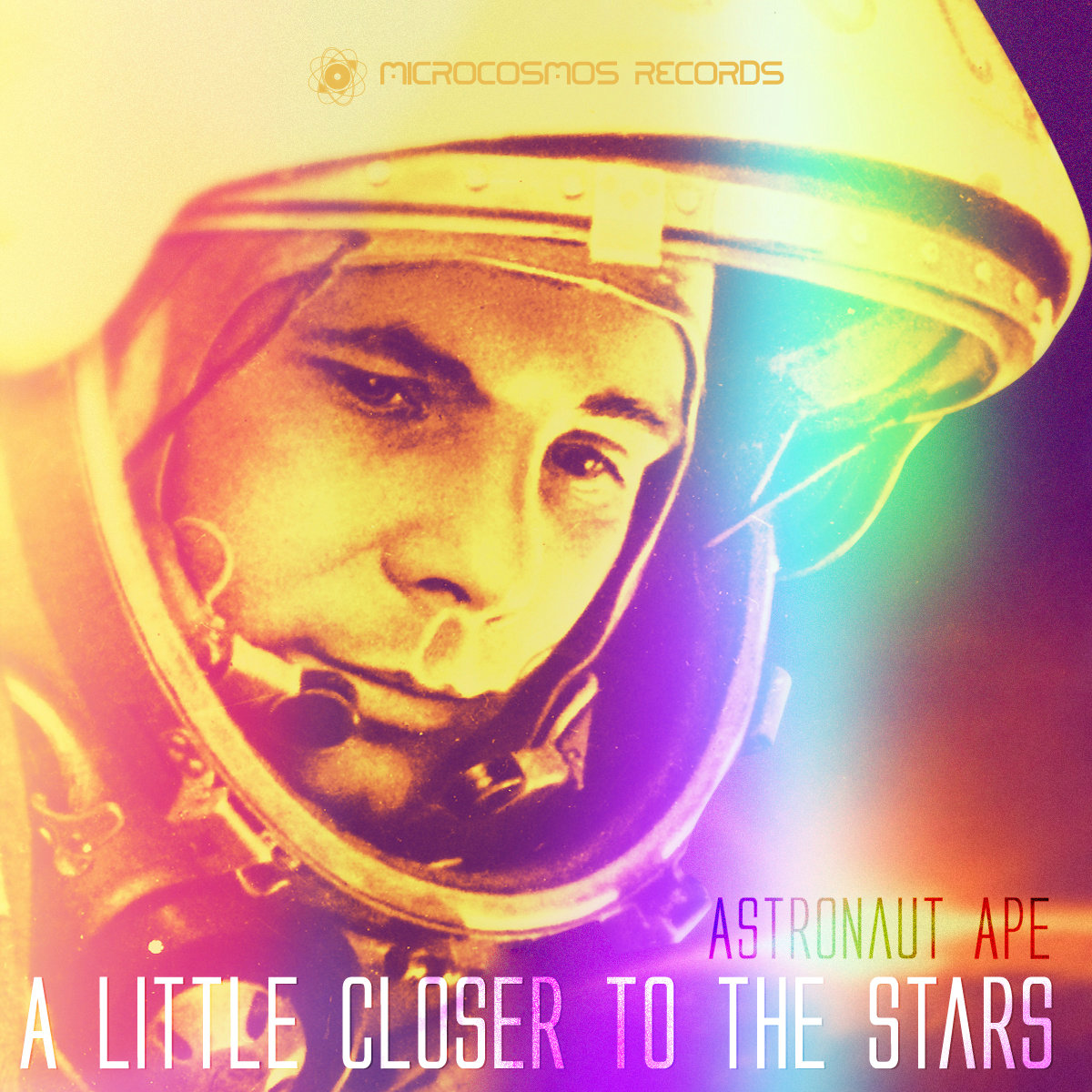 Astronaut Ape - A Little Closer To The Stars (artwork)