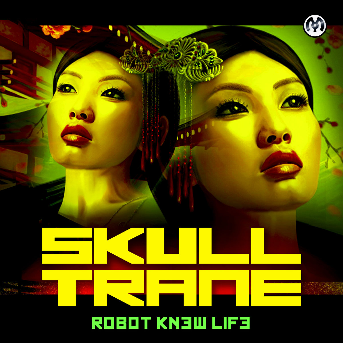 Skulltrane - Sniffin Blow @ 'Robot Knew Life' album (electronic, dubstep)