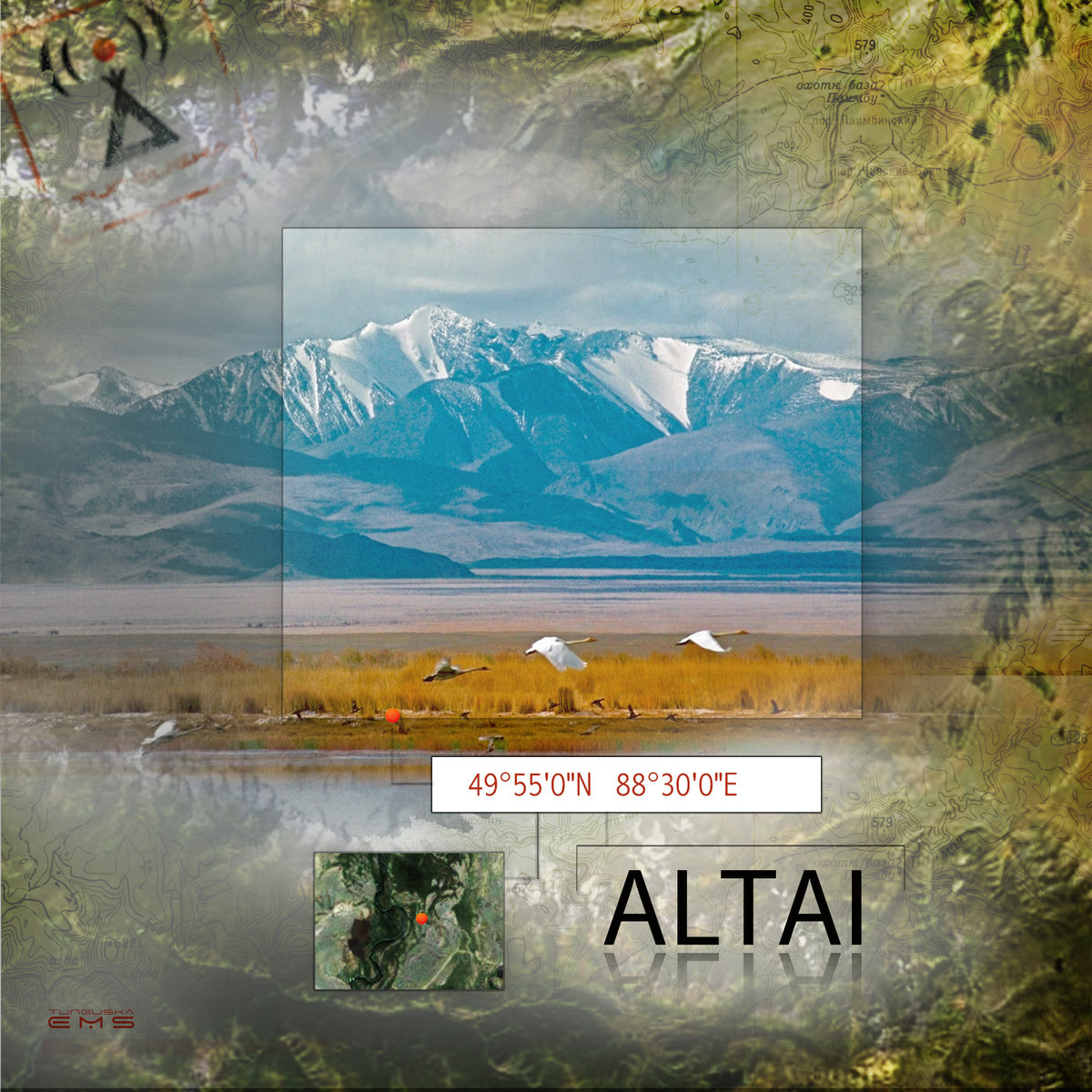 Flying Hills - Our Thoughts of You (single) @ 'Point - Altai' album (electronic, ambient)