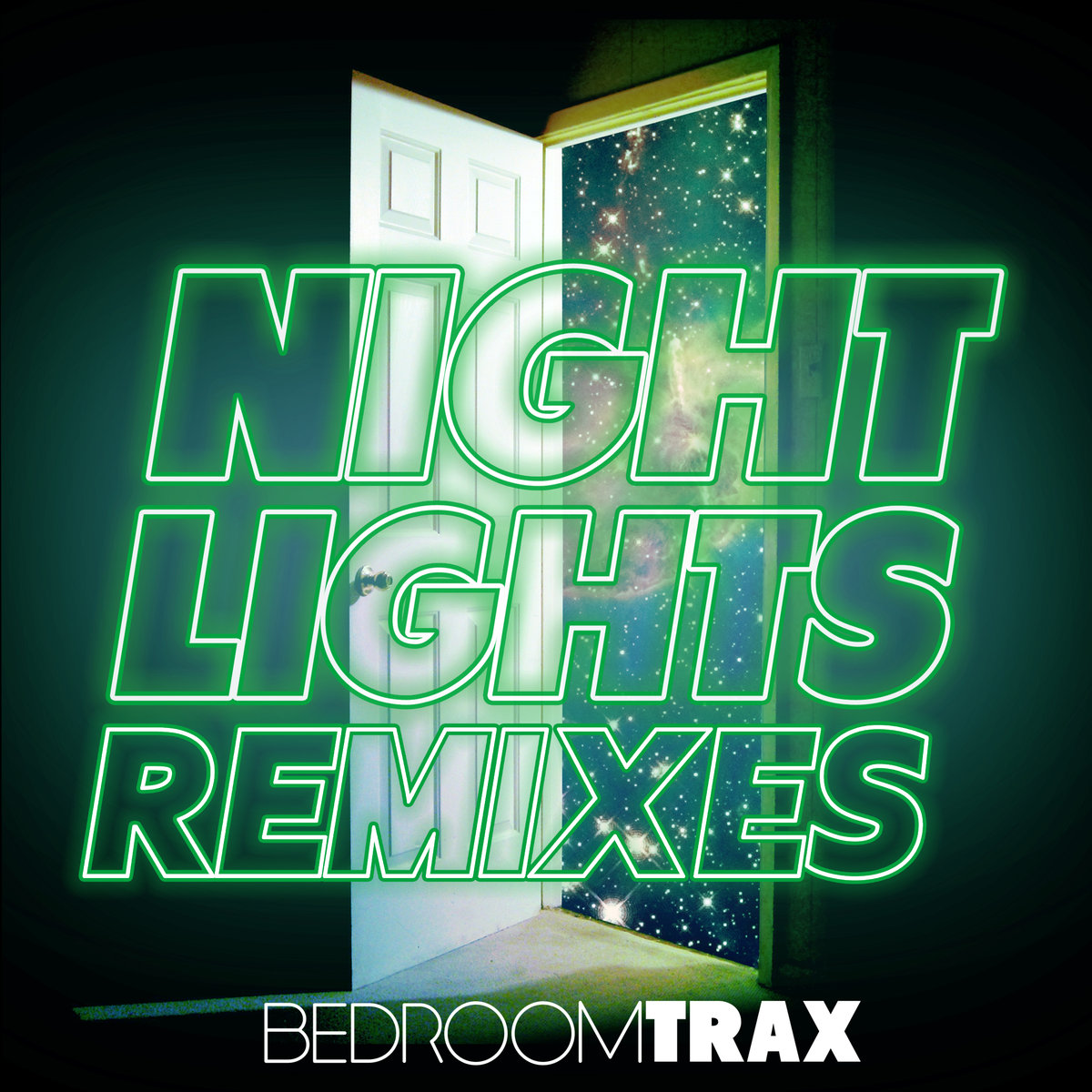 BedroomTrax - Night Lights Remixes (artwork)