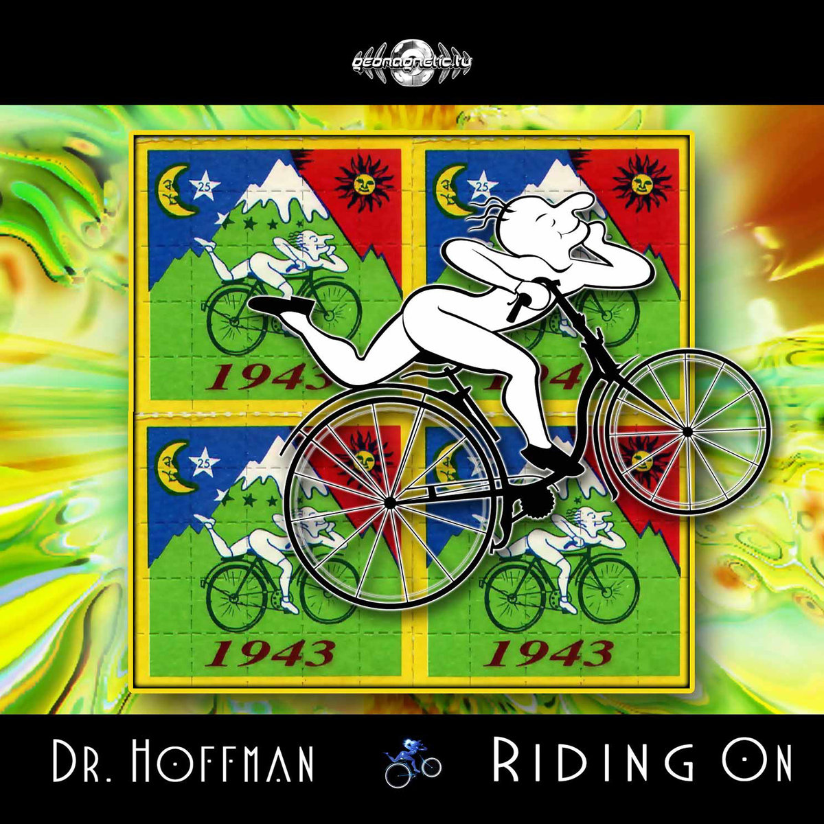Dr. Hoffman - DNA Manipulation @ 'Riding On' album (electronic, goa)