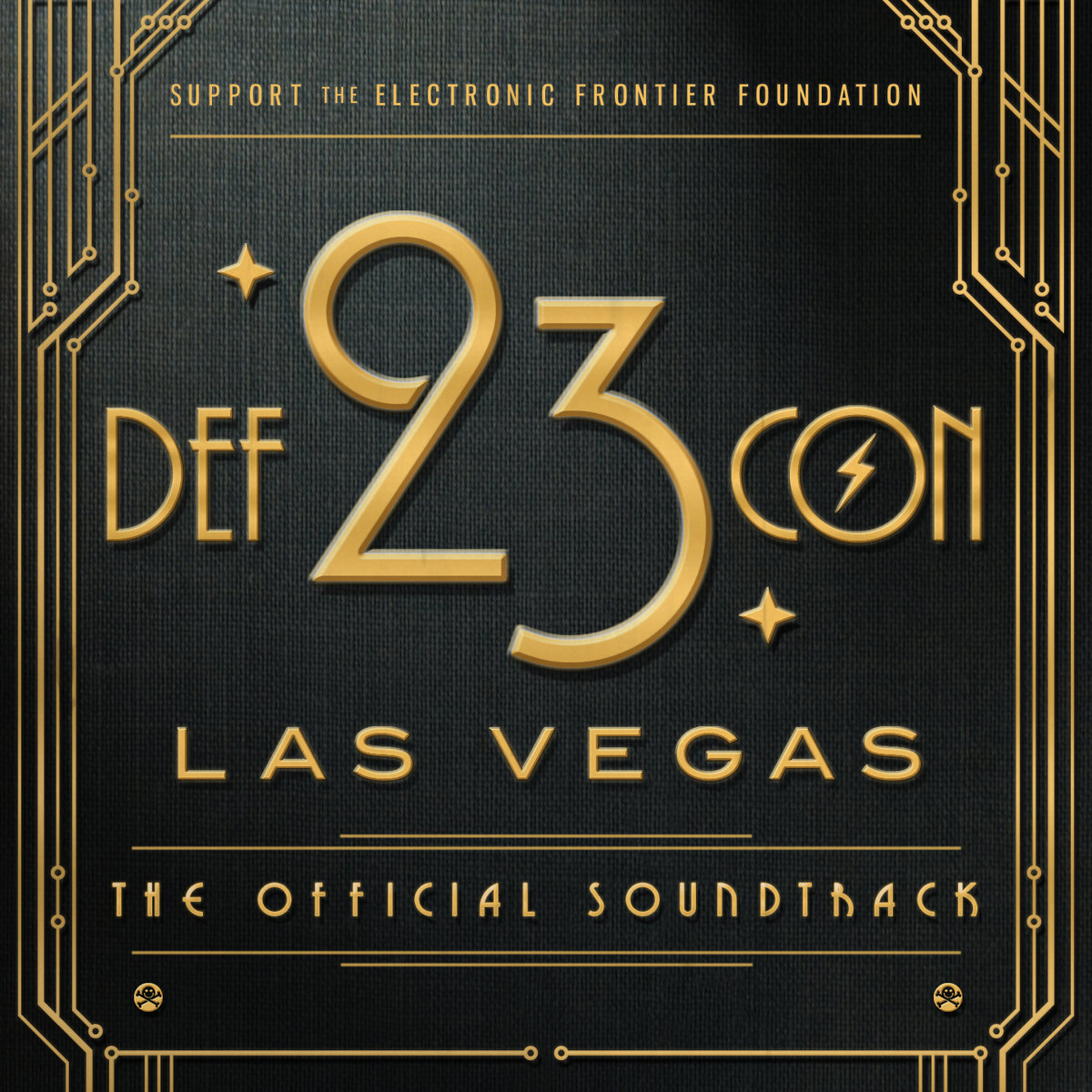 Mechanical Pressure & Cara Leigh - Inception @ 'DEF CON 23: The Official Soundtrack' album (bass, charity)