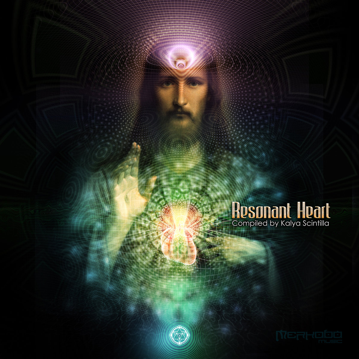 Bardo River - Desaidi @ 'Various Artists - Resonant Heart' album (electronic, ambient)