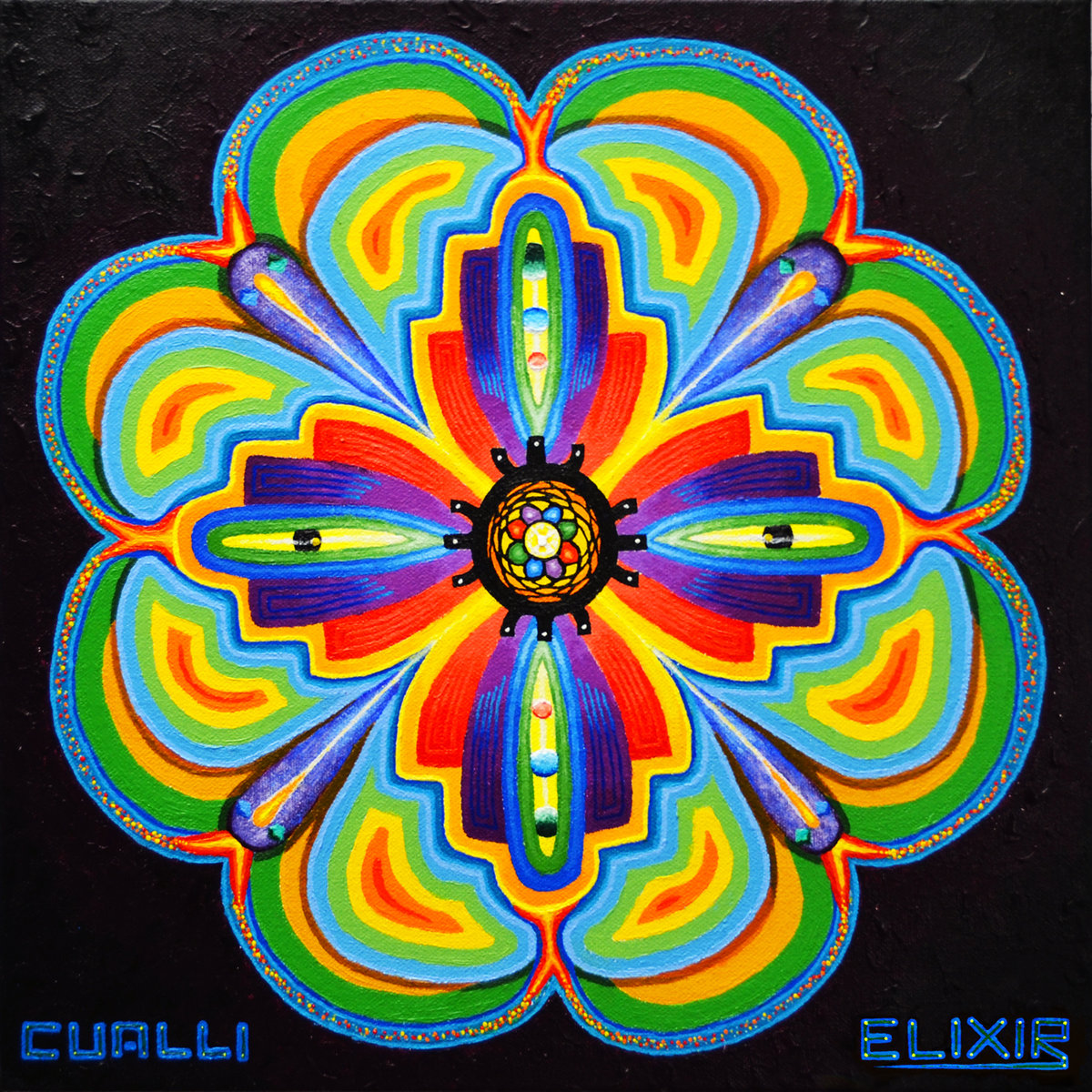 Cualli - Merkaba Craft @ 'Elixir' album (bass, electronic)