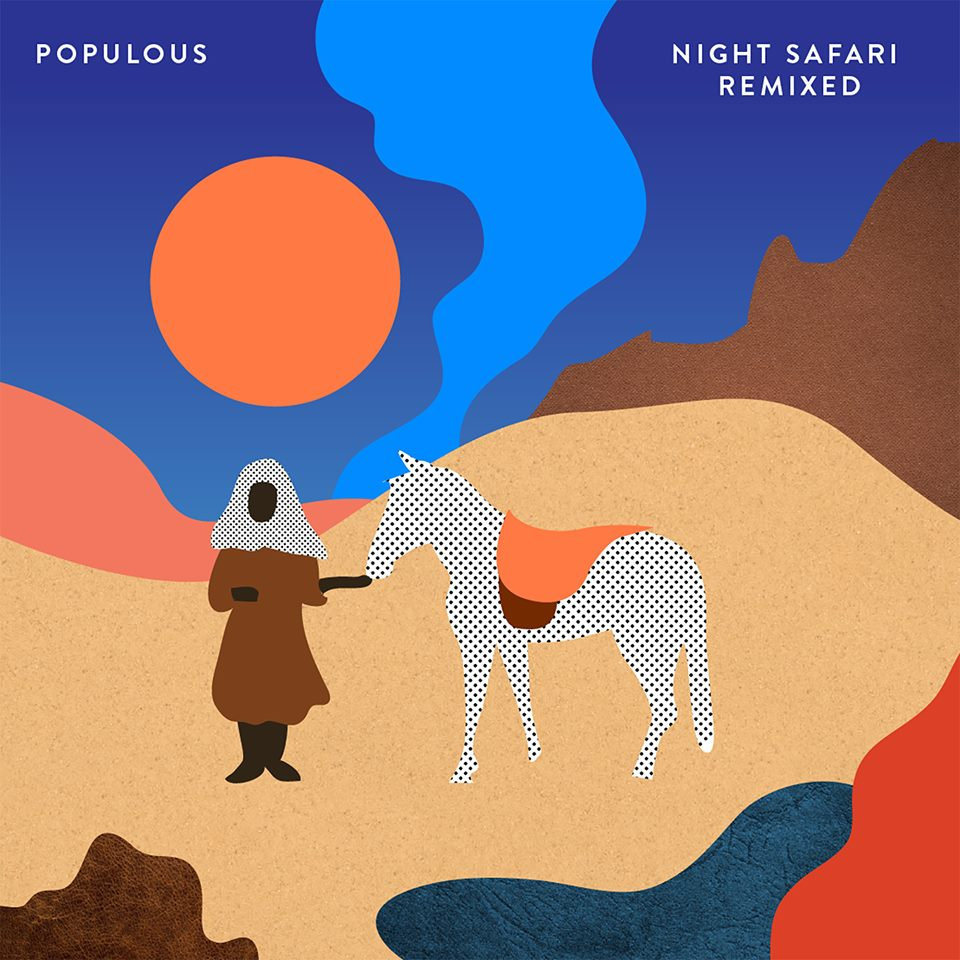 Populous feat. Cuushe - Fall (Blue Hawaii Remix) @ 'Night Safari Remixed' album (alternative, argentina)