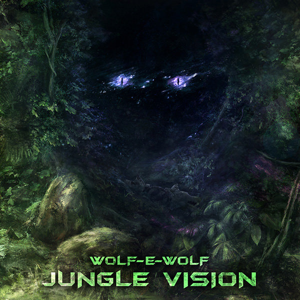 Wolf-e-Wolf - Fiyah @ 'Jungle Vision' album (Austin)
