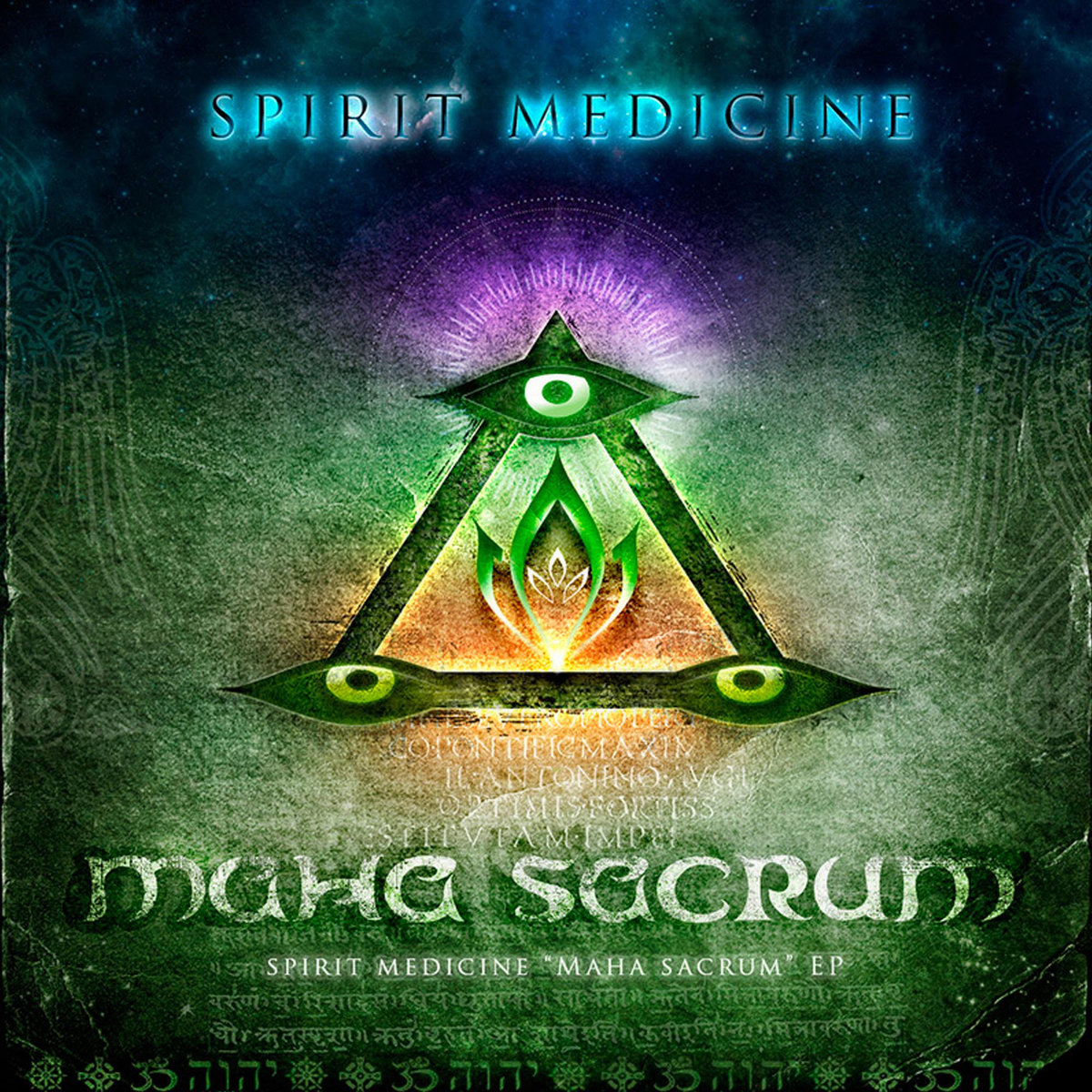 Spirit Medicine - Christ as Kalki @ 'Maha Sacrum' album (2013, ambient)