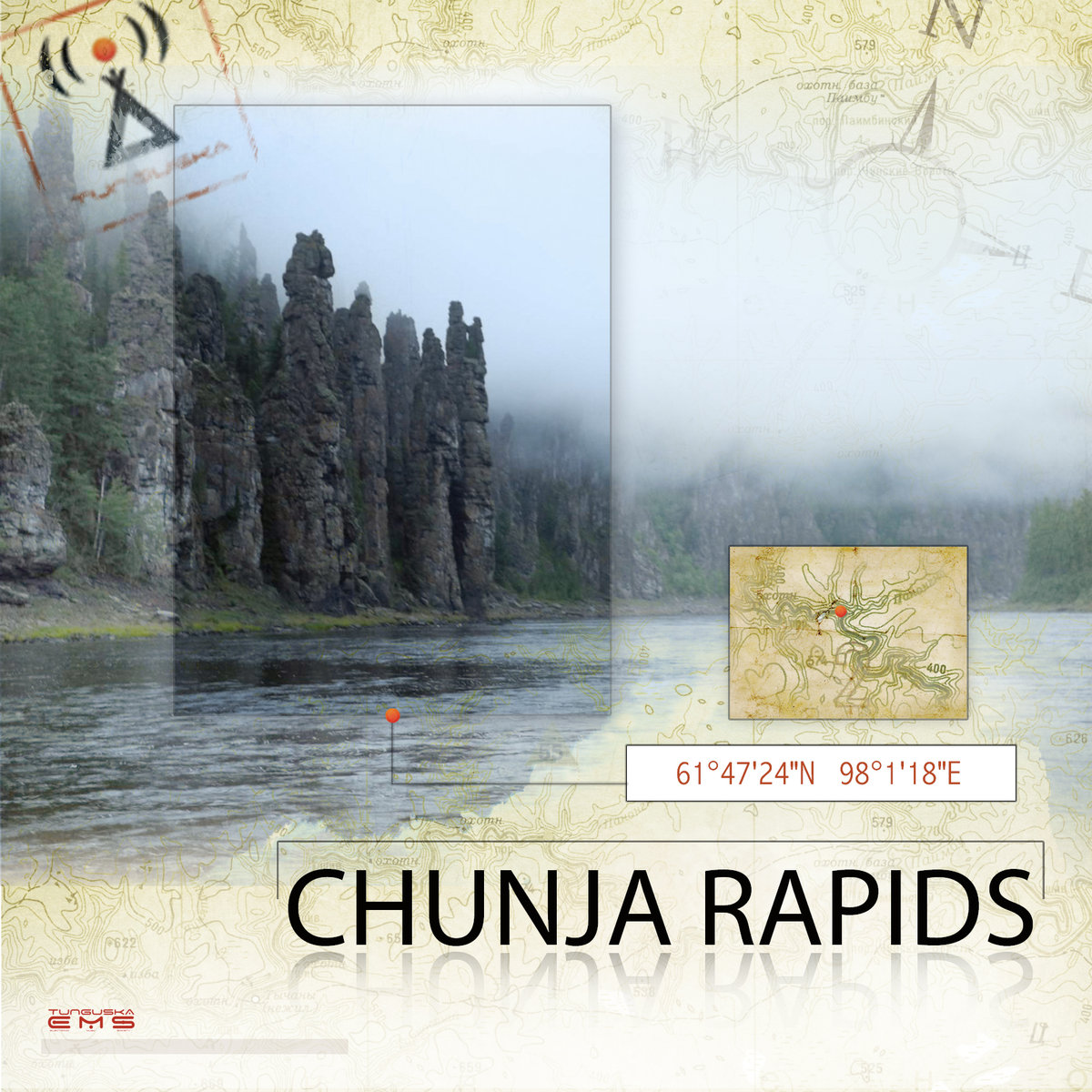 Wandering Wind & WMRI - Entrance to the Light World @ 'Point - Chunja Rapids' album (electronic, ambient)