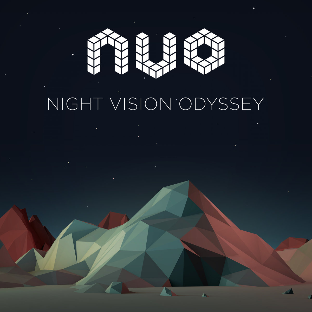 NVO - Burnin @ 'Night Vision Odyssey' album (electronic, dubstep)