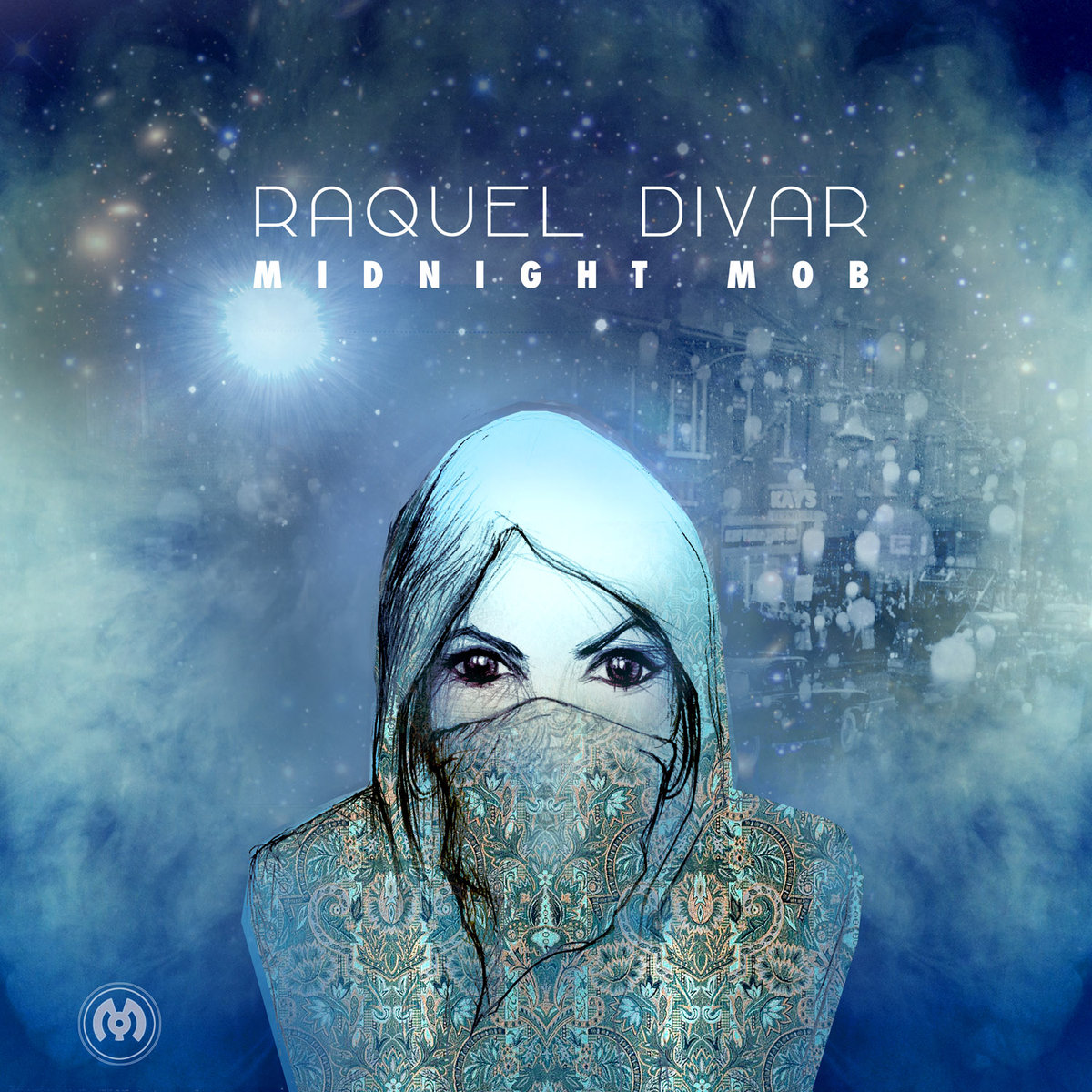 Raquel Divar & Cryptex - In The Stratus @ 'Midnight Mob' album (electronic, dubstep)