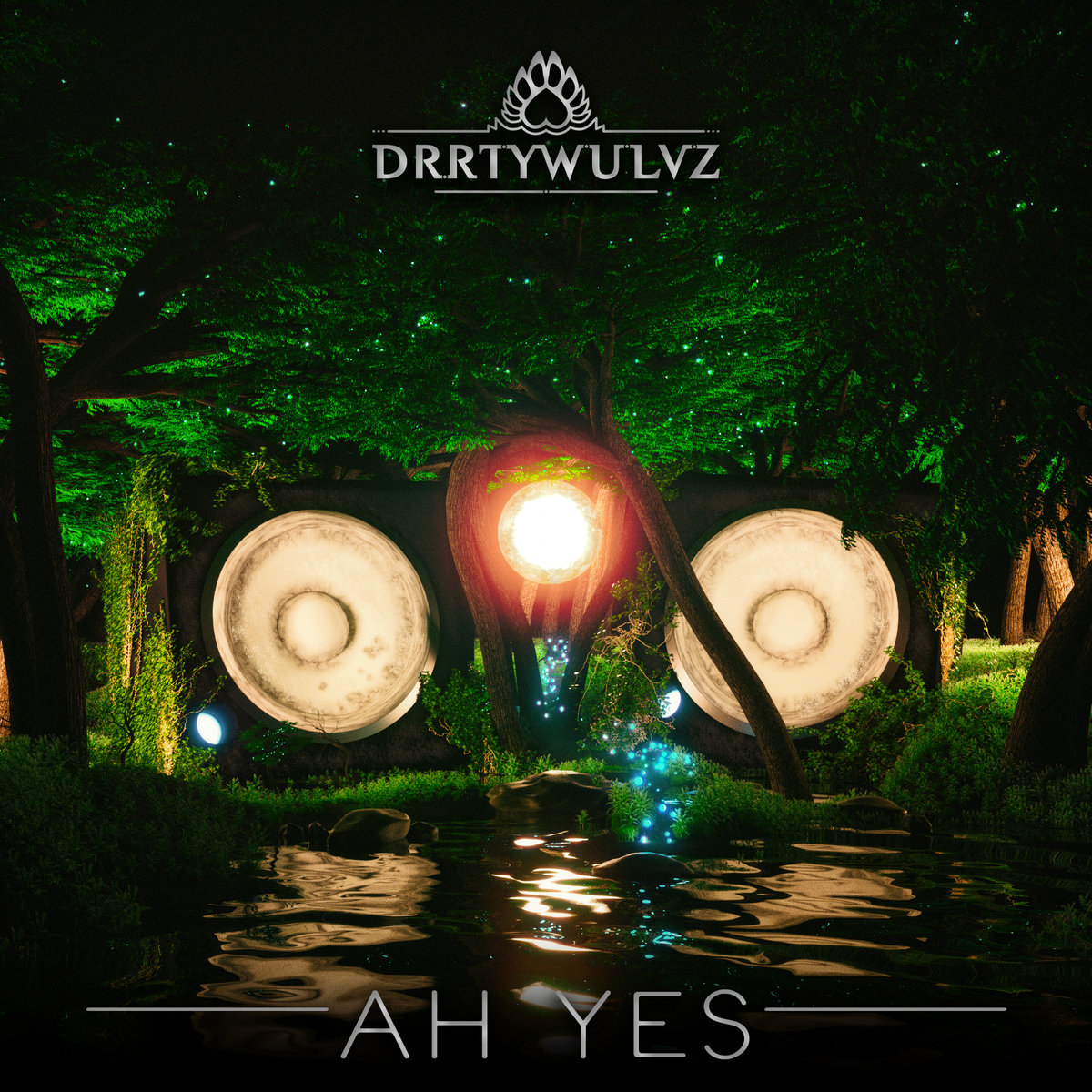 DRRTYWULVZ - All Them @ 'Ah Yes' album (bass, drrtywulvz)