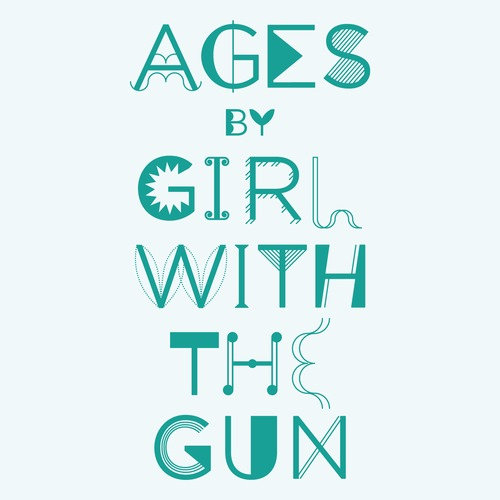 Girl With The Gun - Echo Alone @ 'Ages' album (alternative, electronic)