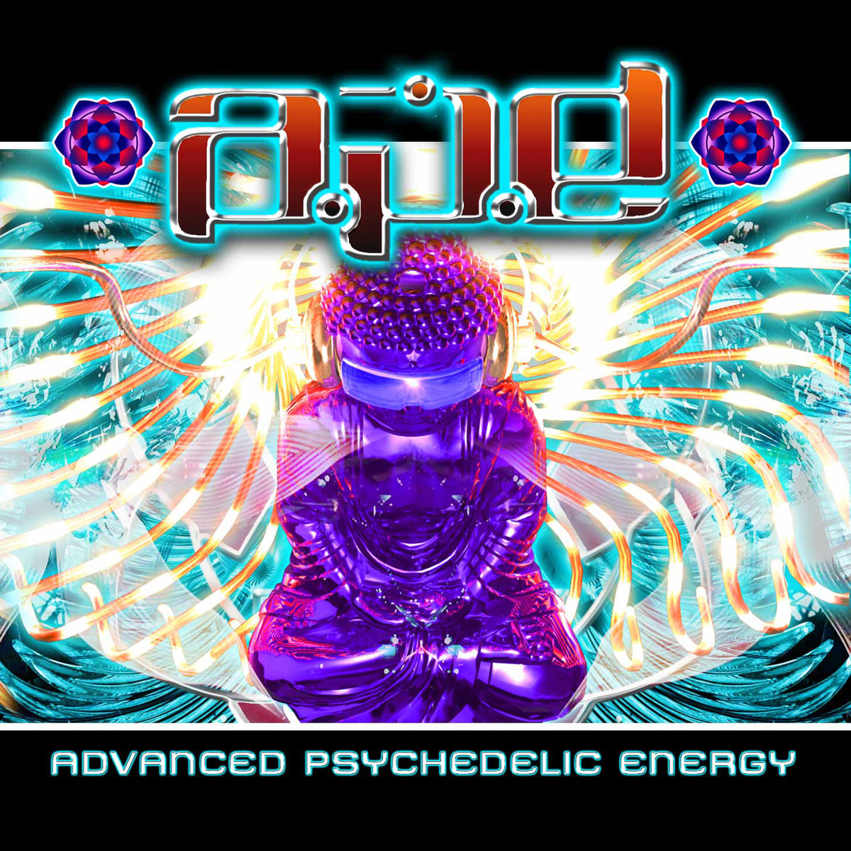 A.P.E. - Cosmic Storms @ 'Advanced Psychedelic Energy' album (electronic, goa)