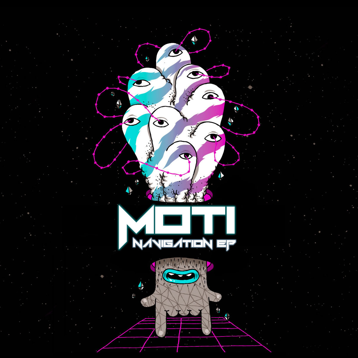 Le Moti - To The Ones We Roll With @ 'Navigation' album (bass, electronic)