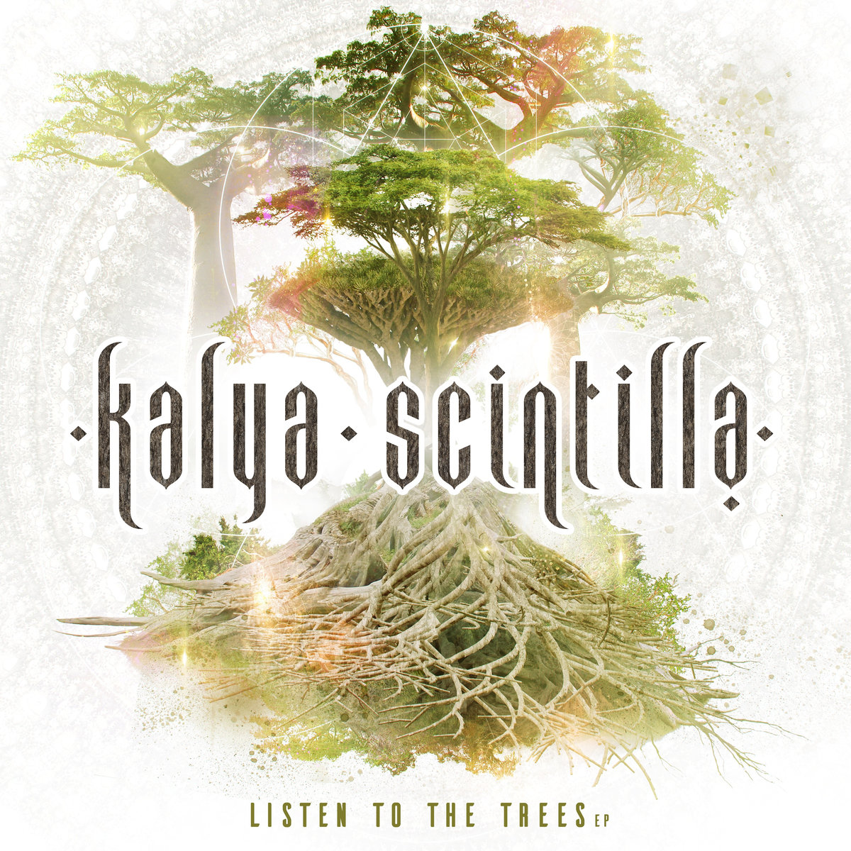 Kalya Scintilla - Dragon Tree @ 'Listen to the Trees' album (electronic, ambient)