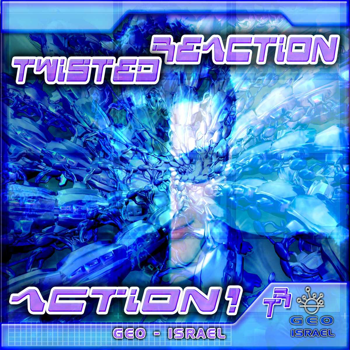 Twisted Reaction - Action! @ 'Action!' album (electronic, goa)