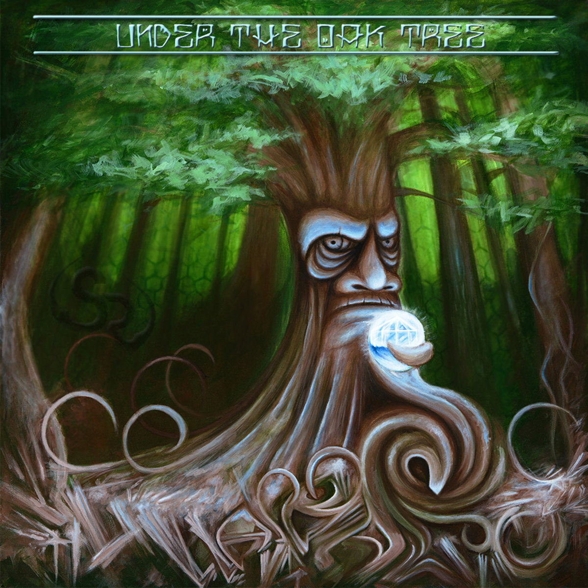 HullabaloO - Under the Oak Tree (artwork)