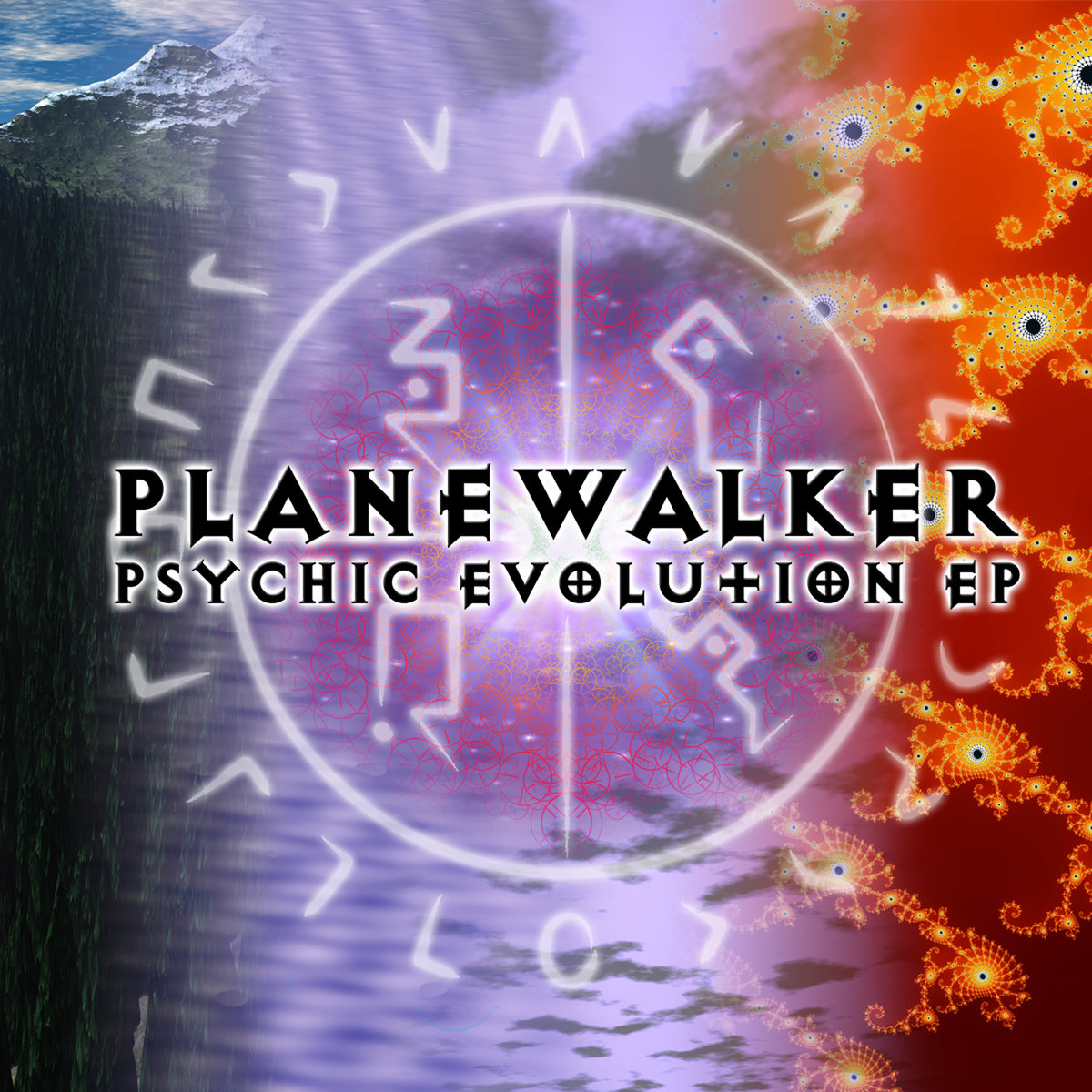 Planewalker - First Light @ 'Psychic Evolution' album (electronic, goa)