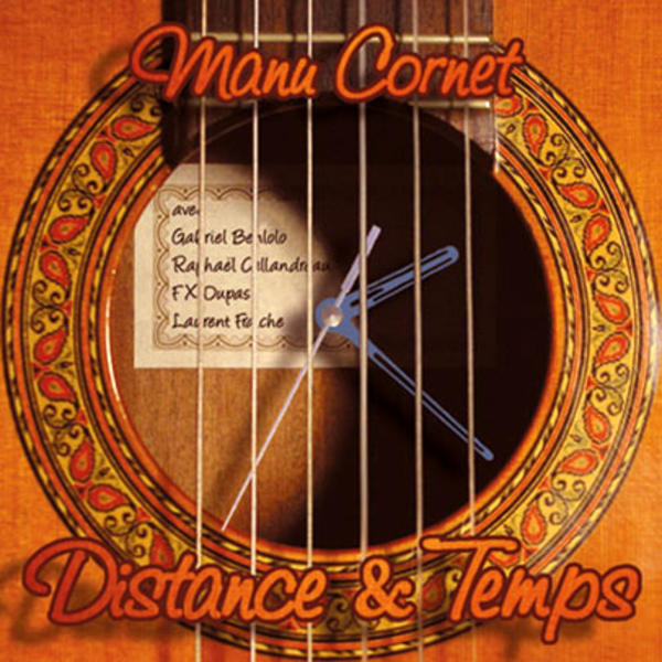 Manu Cornet - Distance & Temps (artwork)